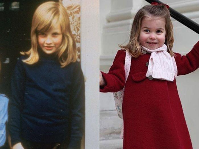 Foto sekolah pertama Putri Charlotte dan Putri Diana masa kecil