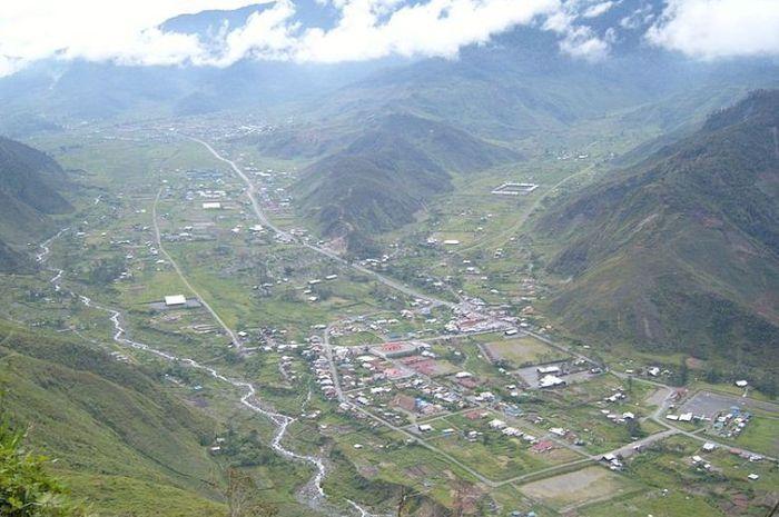 Kota Mulia di Papua