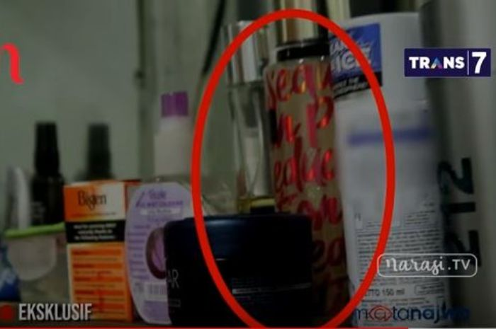 Parfum wanita yang ditemukan di kamar sel Setya Novanto