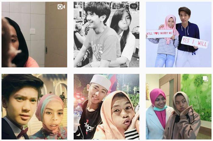 Unggahan foto Nurrani di instagram