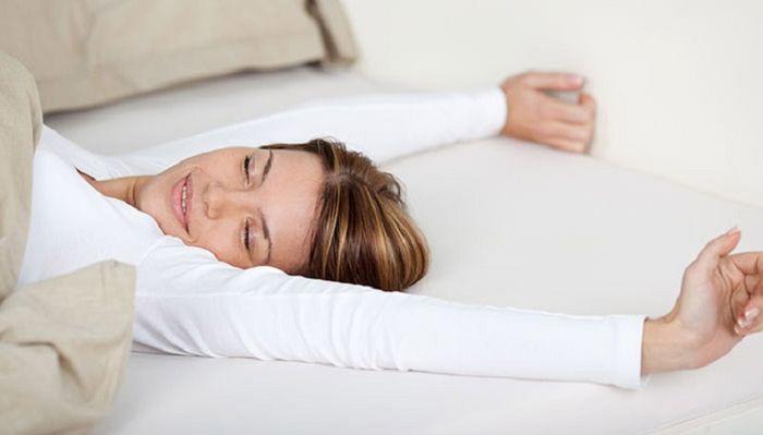 Tidur yang tepat, saat bangun pun rasanya nikmat.