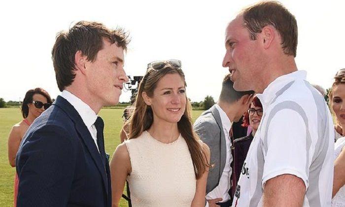 Pangeran William dan Eddie