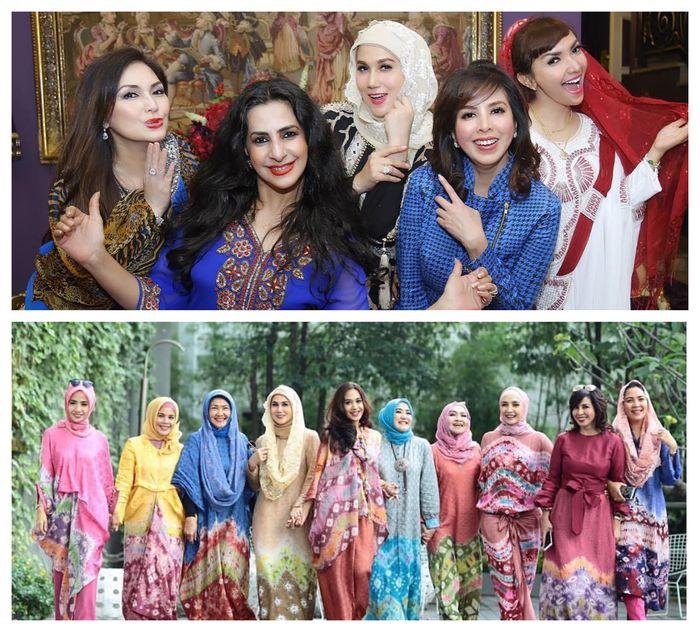Para sahabat ibu mertua Tasya Kamila dari kalangan artis