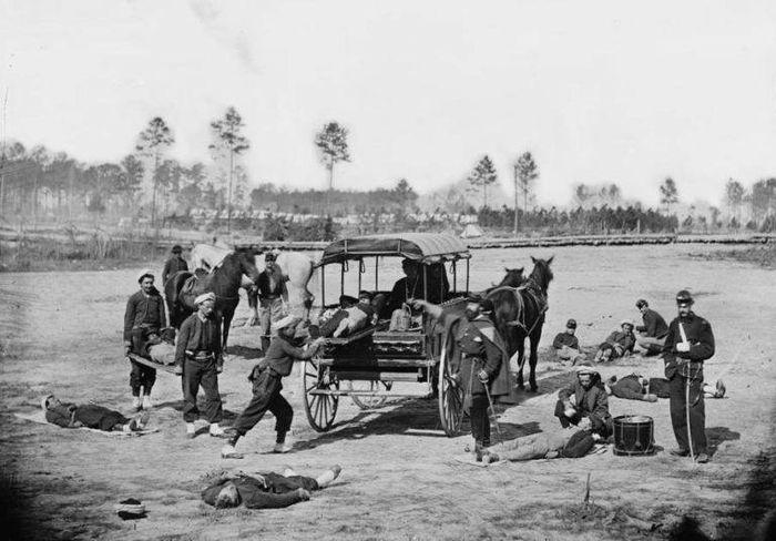 Korban yang terluka dalam perang