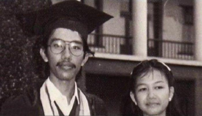 Masa muda Jokowi dan Iriana