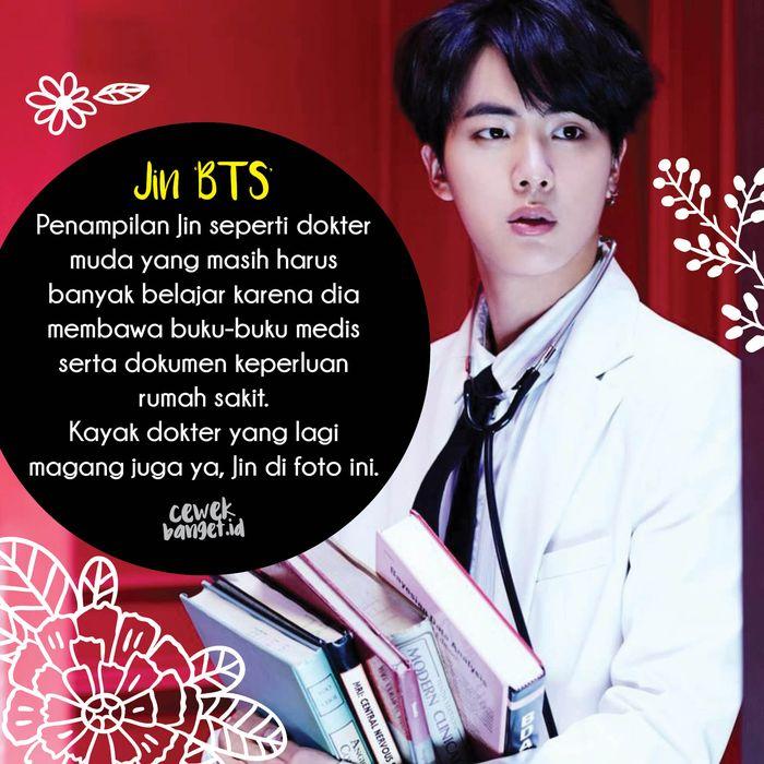 Jin 'BTS'