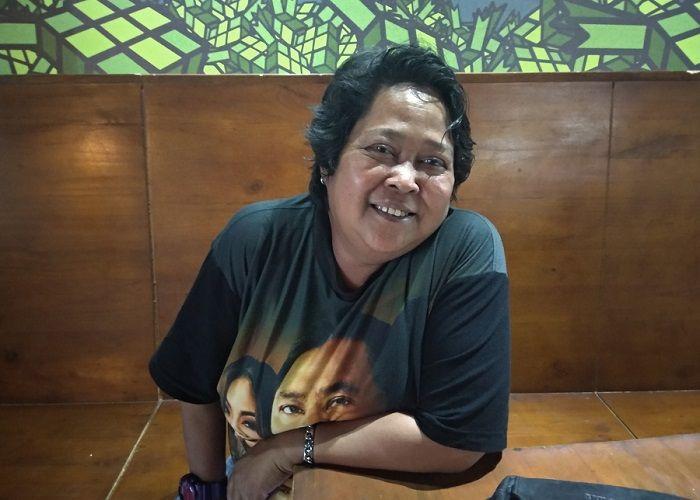 Suti Karno saat Grid.ID temui di kawasan Depok, Jawa Barat, Rabu (8/8/2018).