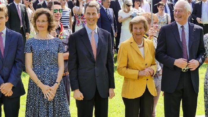 keluarga kerajaan Liechtenstein saat ini