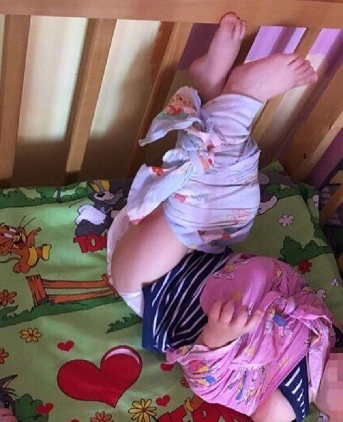 Natalia melaporkan bayi diikat di dipan sekolah taman kanak-kanak