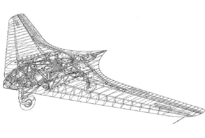 Untuk ukuran tahun itu, desain Ho 229 termasuk sangat rumit dan canggih