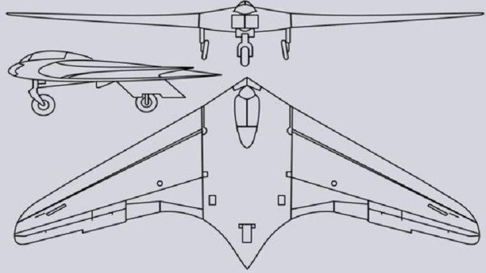 Desain Ho 229 yang disebut melampuai zamannya