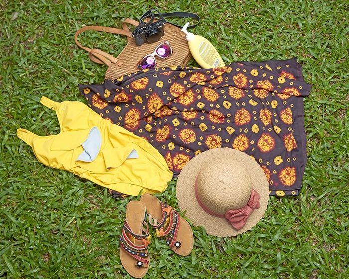 Barang bawaan dan busana yang bisa dibawa saat libur akhir pekan