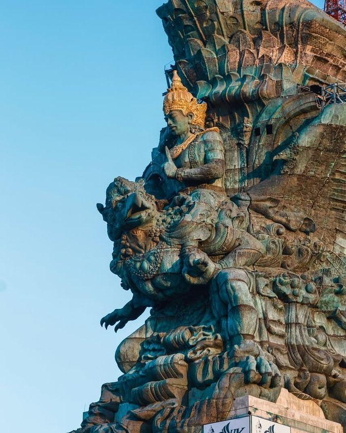 Tinggi patung GWK kalahkan patung Liberty
