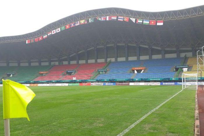 Tampilan Stadion Patriot Candrabraga