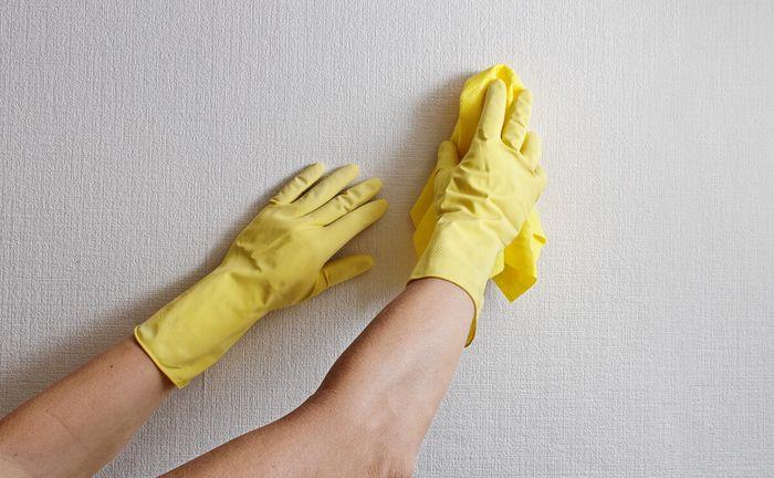 bersihkan dinding