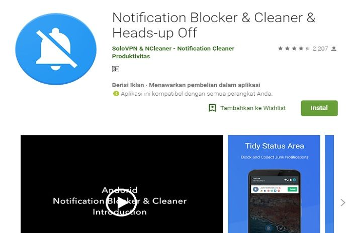 Notification Blocker.