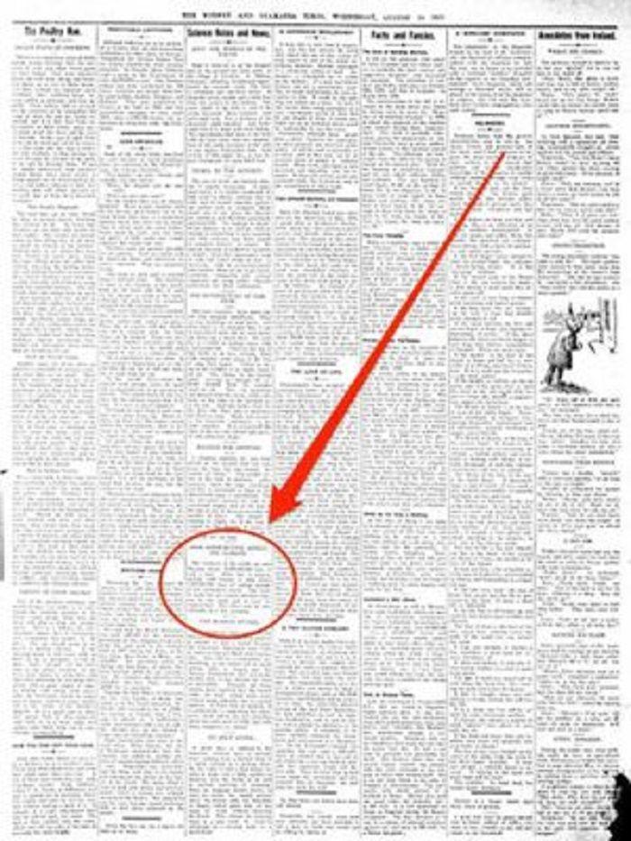 Sebuah koran Selandia Baru keluaran tahun 1912, sudah prediksi perubahan iklim akan terjadi.