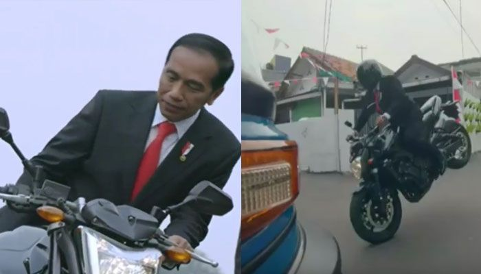 Presiden Jokowi dalam video teaser opening Asian Games 2018