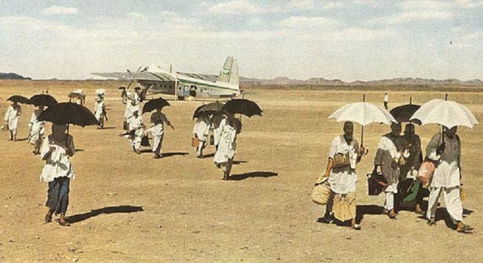 Foto-foto Menakjubkan dari Prosesi Ibadah Haji Tahun 1953.