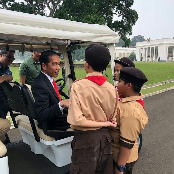 Jokowi dan anak-anak