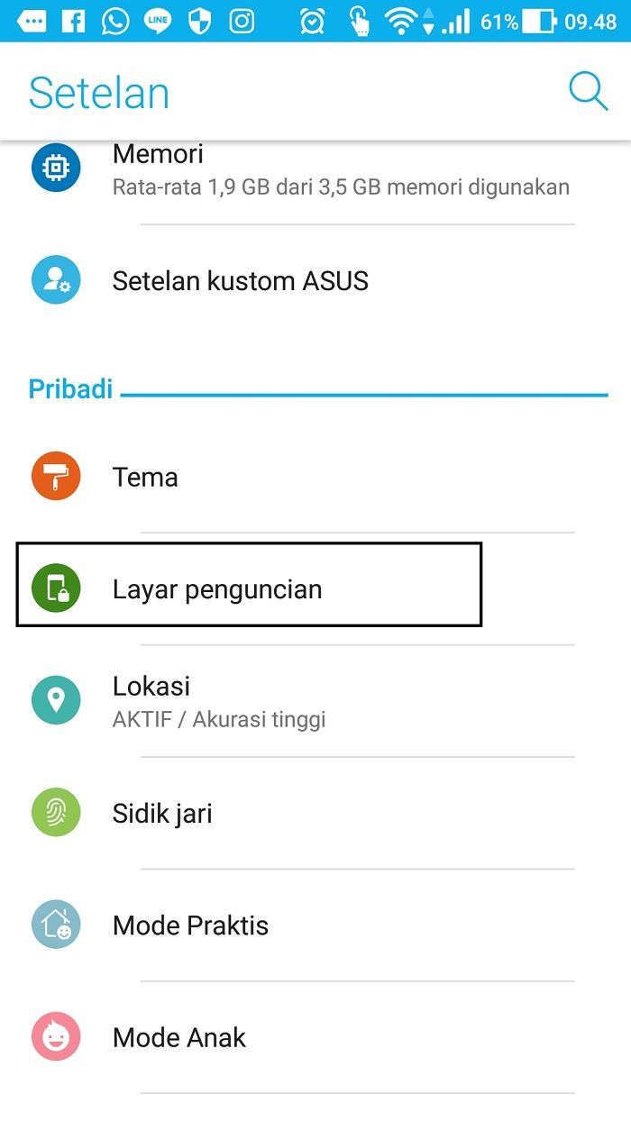 Cara membaca pesan WhatsApp meski layar sedang terkunci,