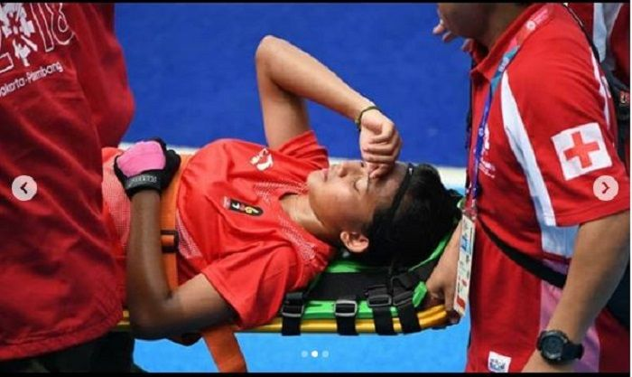 Momen dramatis atlet Indonesia