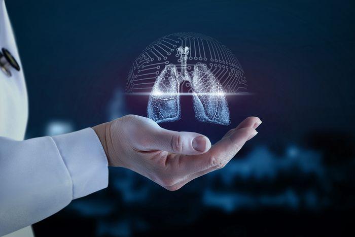Paru-paru manusia.