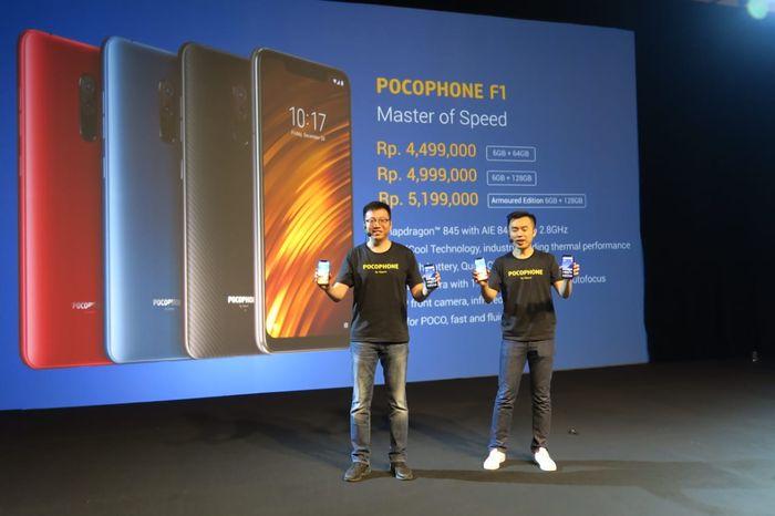 Launching Xiaomi Poco F1