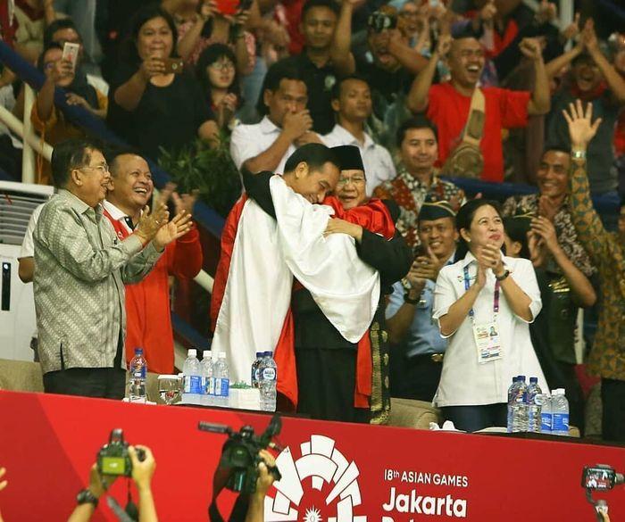 Hanifan Yudani Kusumah, atlet pencak silat yang ajak Jokowi dan Prabowo pelukan