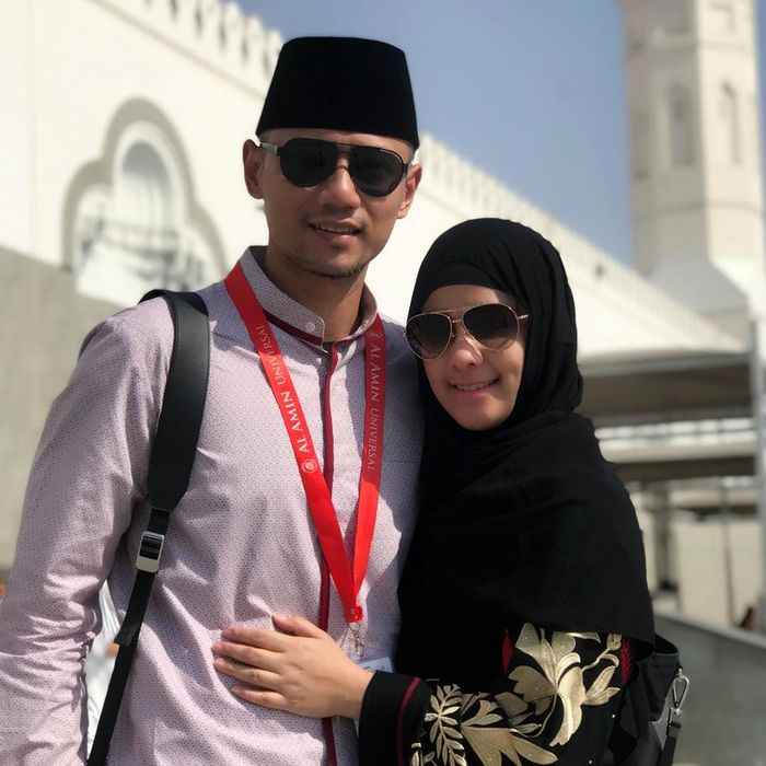 Agus Yudhoyono dan Annisa Pohan menunaikan ibadah haji di Tanah Suci, Mekah
