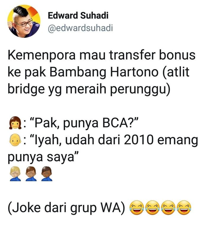 Image result for meme bambang hartono