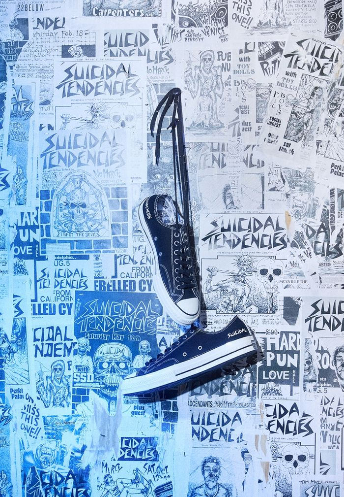 Suicidal Tendencies x Converse