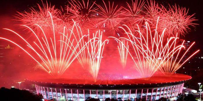 Upacara penutupan Asian Games 2018 berlangsung megah
