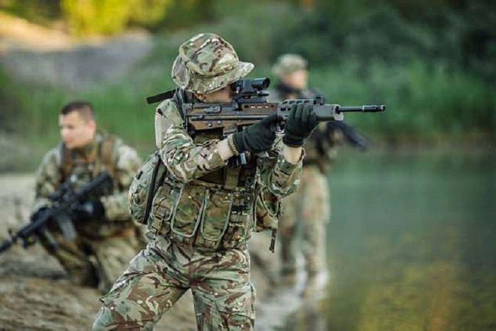 Ilustrasi pasukan SAS Inggris.