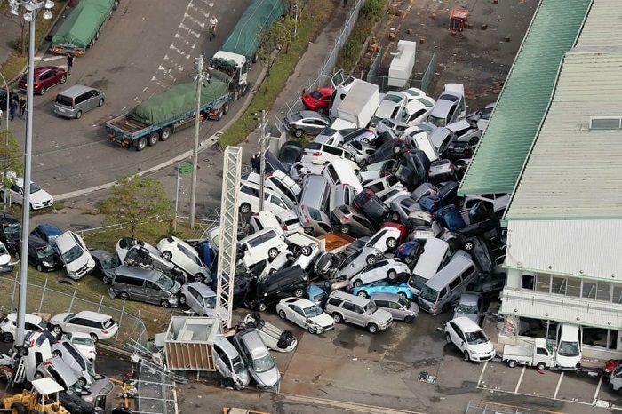 Kondisi Jepang pasca dilanda topan dahsyat