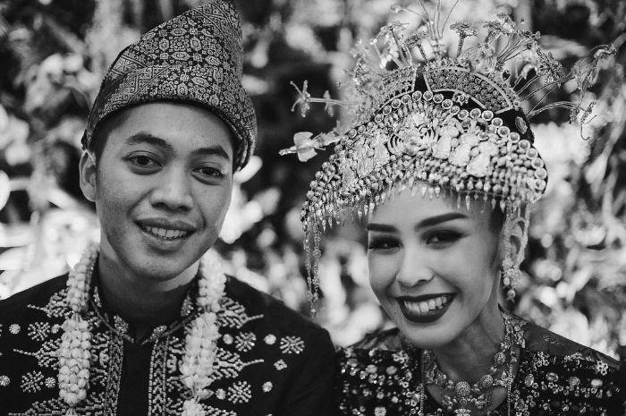 Adara Taista dan Rasyid Rajasa saat menikah