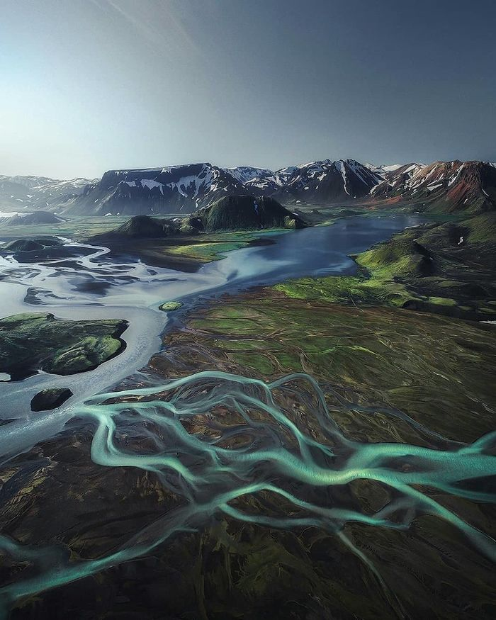 Daratan tinggi Islandia.