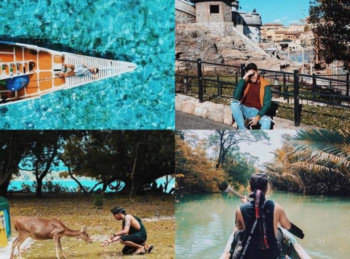 Pacar Siti Badriah suka travelling