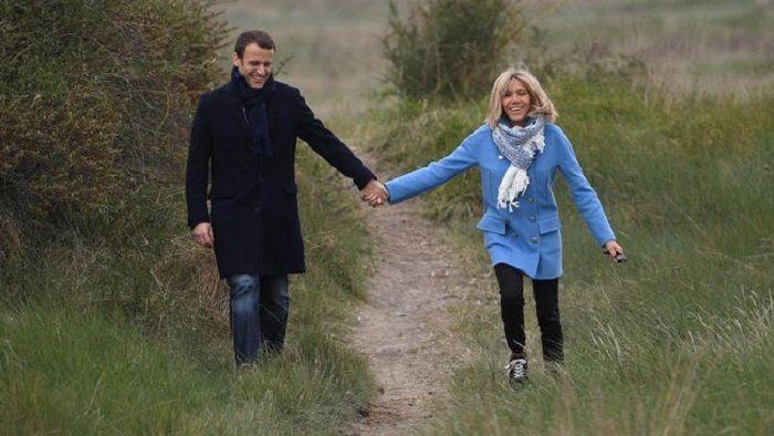 Macron dan istri