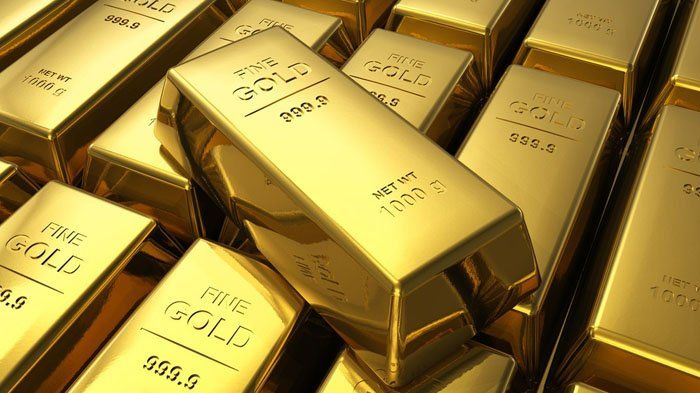 Ilustrasi cadangan emas Indonesia.