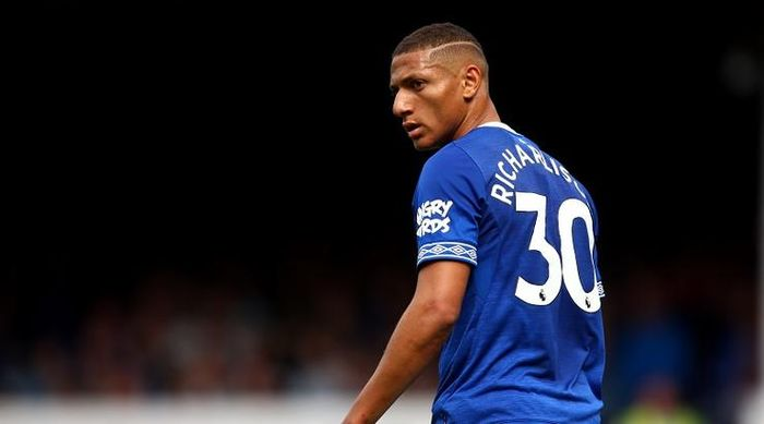 Everton's Richarlison during the pre-season friendly match at Goodison Park, Liverpool.