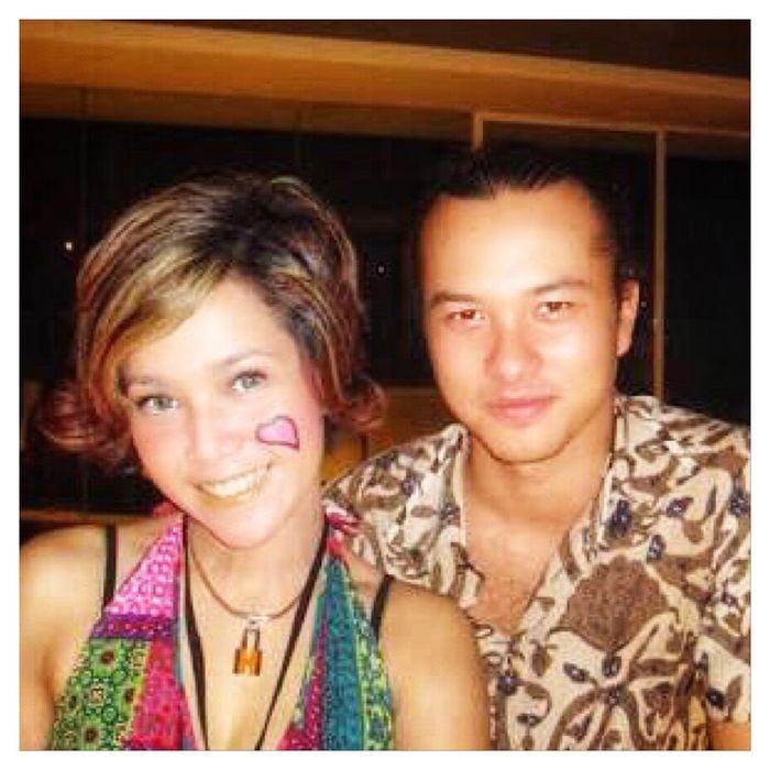 Foto Maia Estiany dan Nicholas Saputra 10 tahun yang lalu