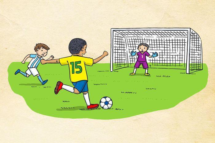 Contoh Contoh Gerakan Lokomotor Dan Non Lokomotor Serta Manipulatif Dalam Olahraga Sepak Bola Semua Halaman Fotokita
