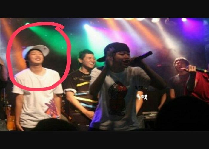 RM ketika menjadi rapper underground