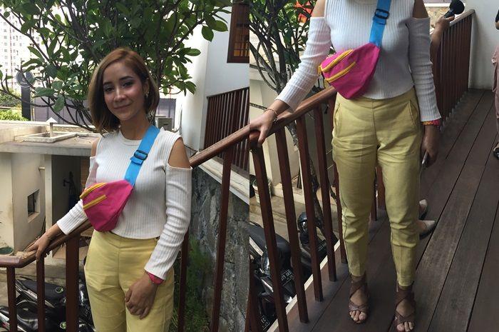Gaya OOTD colorful Rania Yasmin