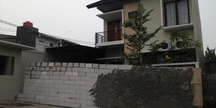 rumah milik Heru di Bintaro