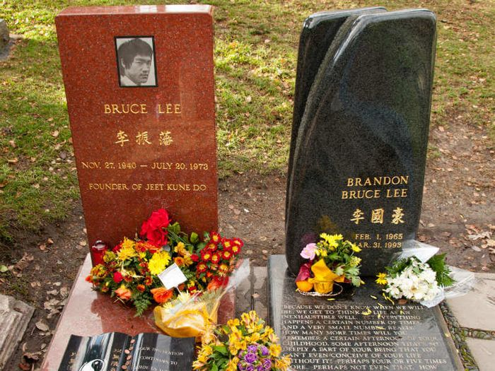 Bruce Lee dan Brandon Lee.