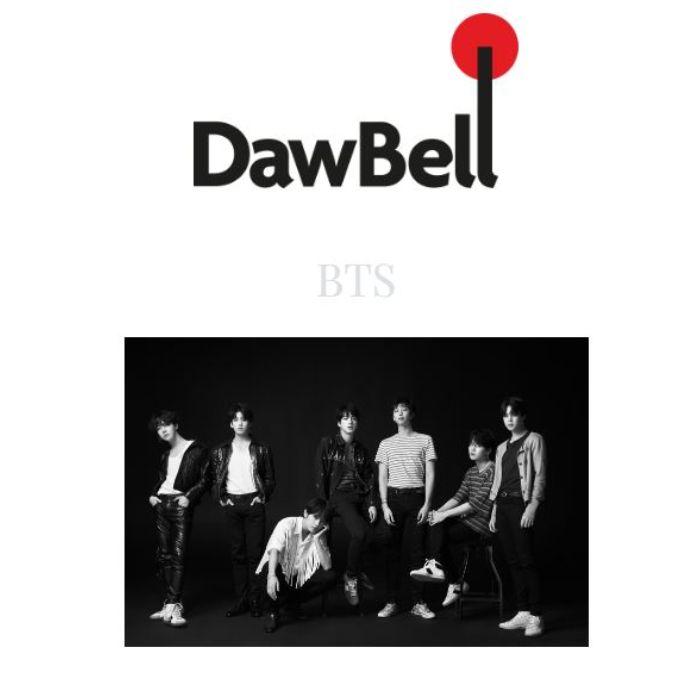 BTS masuk di situs Dawbell