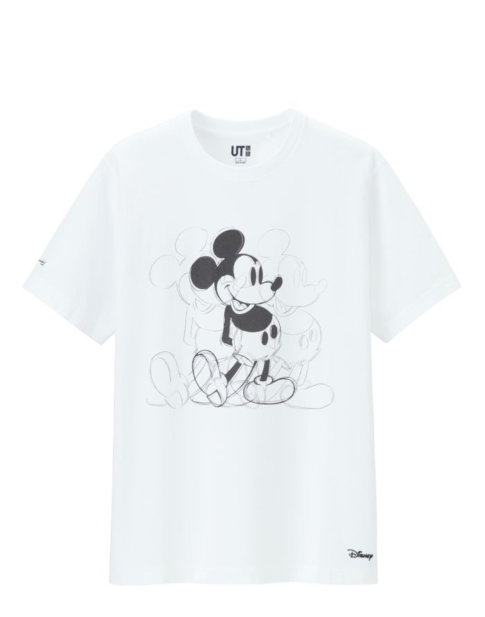 Uniqlo x Andy Warhol Mickey Mouse Art