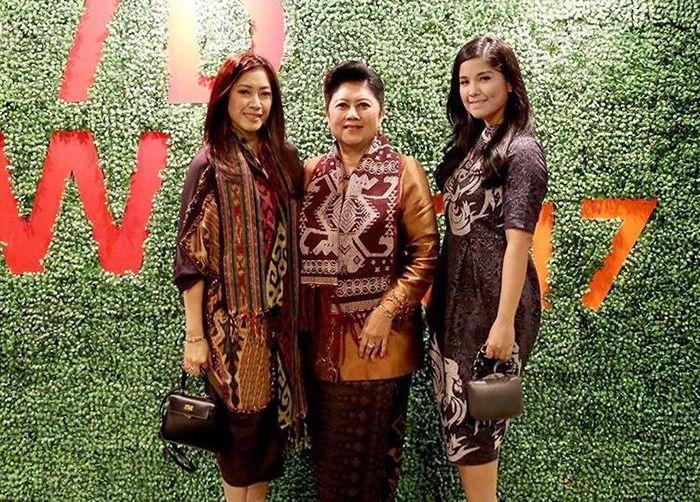 Aliya, Ani Yudhoyono dan Annisa